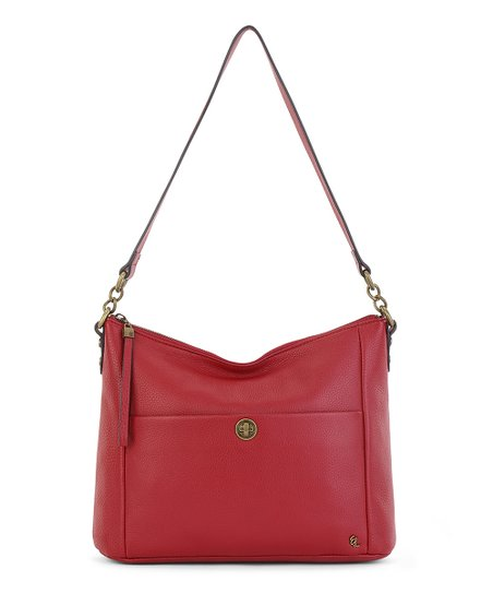 Elliott Lucca Scarlet Coraline Leather Hobo Best Price And Reviews Zulily