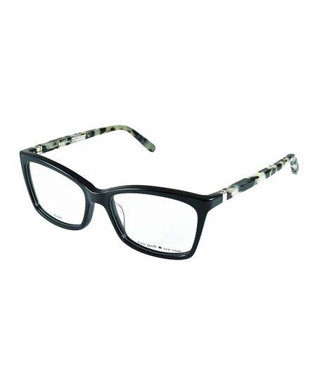 df0631fb268 Kate Spade Black Havana Cortina Eyeglasses