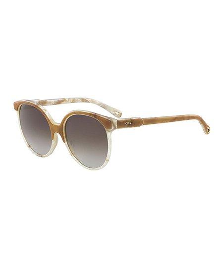 b9da1f3327 love this product White Marble   Gray Gradient Round Sunglasses