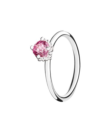 68a1a6062 love this product Pink Diva Sterling Silver Ring With Swarovski® Crystals