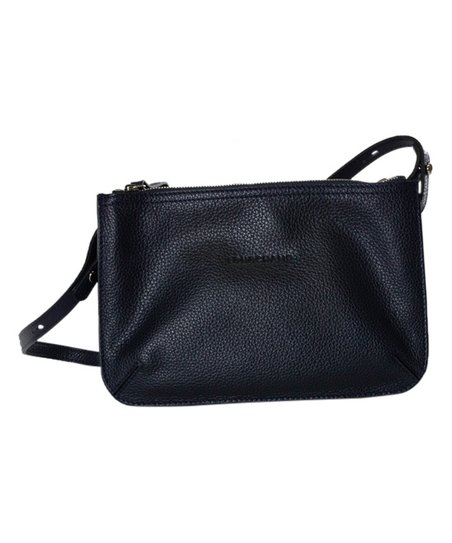 love this product Navy Leather Le Foulonne Crossbody Bag 3aba932b60552