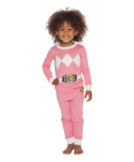 1a9244781fb love this product Mighty Morphin  Power Rangers Pink Pajama Set - Toddler