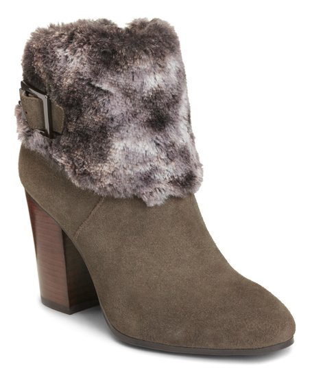 7fa06a71a099 love this product Taupe North Square Suede Bootie - Women