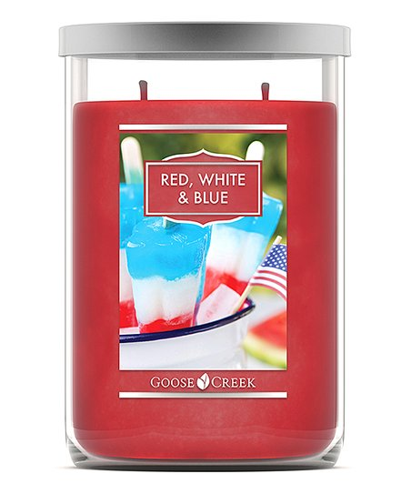 Goose Creek Candles Red White And Blue 20 Oz Tumbler Candle Zulily