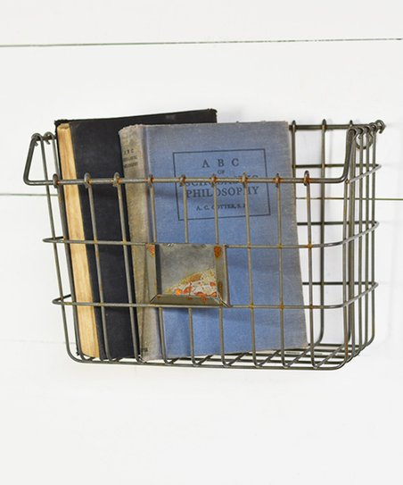 Love This Product Galvanized Tin Wall Basket