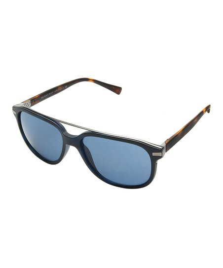 647abe66d73ee love this product Matte Blue   Havana Modified Aviator Sunglasses