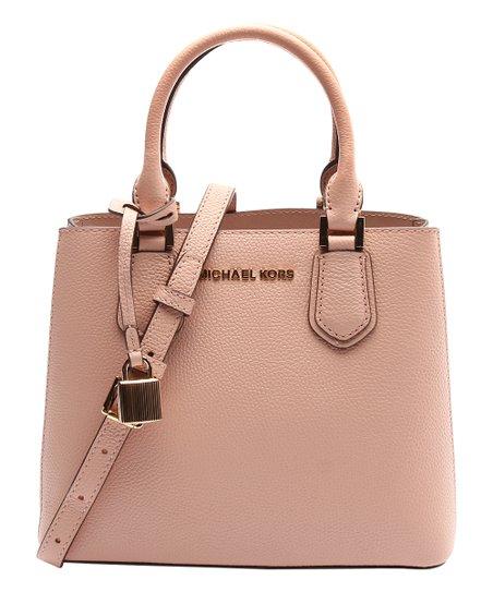 1c564b84f107 Michael Kors Pastel Pink Adele Medium Leather Crossbody Bag | Zulily