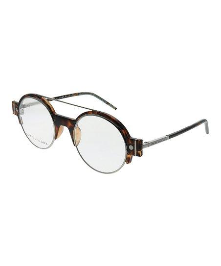 ec218a56e9d9 Marc Jacobs Tortoiseshell Round Half-Rim Eyeglasses | Zulily