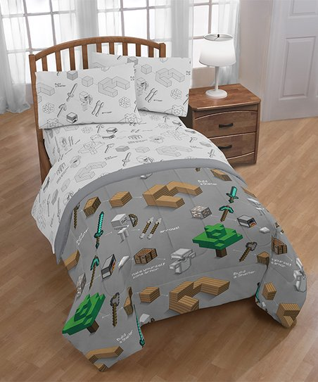 Minecraft Survive Twin Bed In A Bag