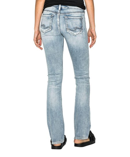 1360da49 Silver Jeans Co. Indigo Suki Slim Bootcut Jeans - Women | Zulily