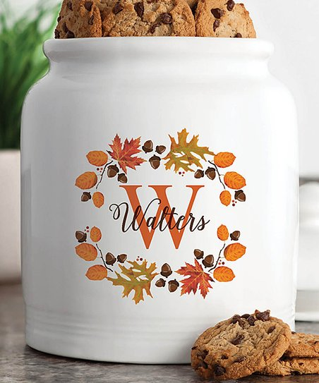 Personalized Planet Autumn Leaves