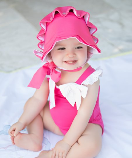 c2f64d52c5c20 love this product Winter Park Pink Sullivan's Island One-Piece - Toddler