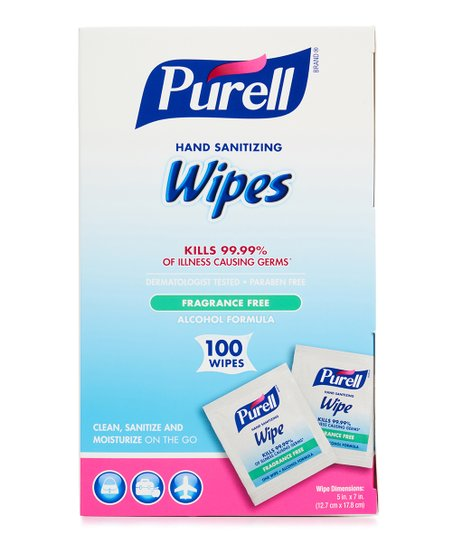 PURELL 100-Ct  Fragrance-Free Hand Sanitizing Wipes