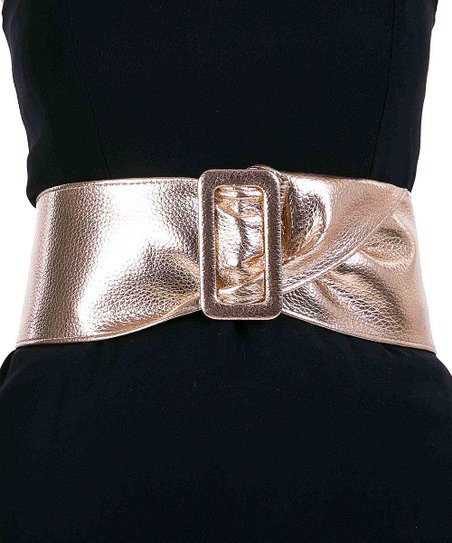 ddeaa4723 love this product Rose Gold Wide Waist Belt