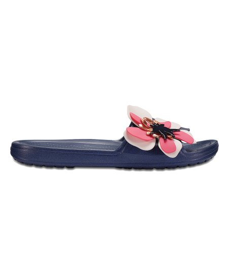 0e009b4ee09 love this product Navy Sloane Botanical Floral Slide - Women