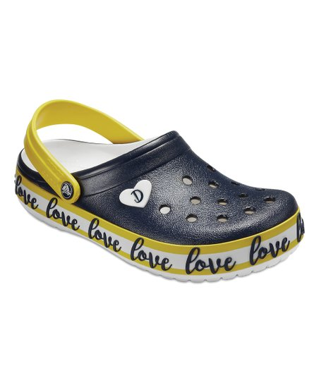 55bb3f94f love this product Navy   White Drew x Crocs™ Crocband™ Clog - Adult
