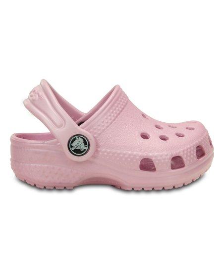 0393ba777ff757 Crocs Ballerina Pink Littles Clog - Girls