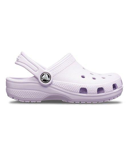 6fb35f7ce8cb1 Crocs Lavender Classic Clog - Kids