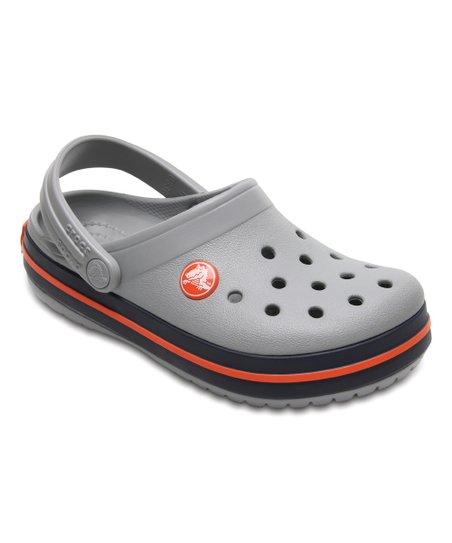 eb8c6c245bdeb5 love this product Light Gray   Navy Crocband™ Clog - Kids