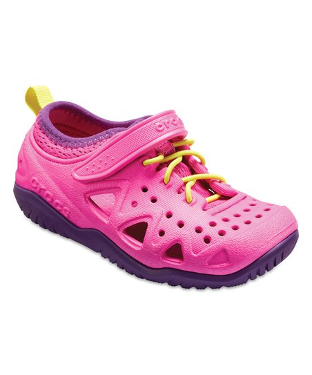 6710a56fca0e67 love this product Neon Magenta Swiftwater™ Play Shoe - Kids