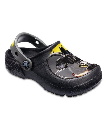Crocs Black Batman Fun Lab Clog - Boys  09d27fd1e0f