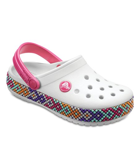 17a882a87117c6 love this product Oyster Crocband™ Gallery Clog - Kids