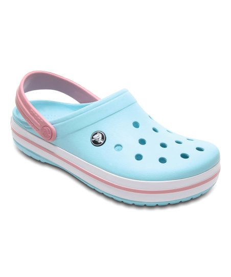 Crocs Ice Blue \u0026 White Crocband™ Clog