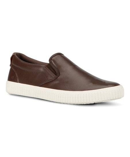ba6b51f60cce love this product Brown   Off-White Riverside Leather Slip-On Sneaker - Men