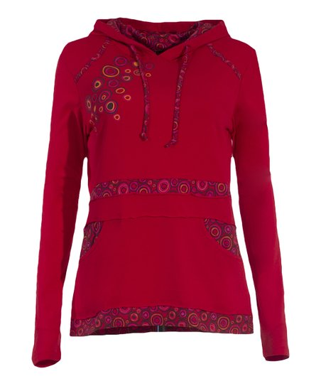 0b1150d1cab love this product Red Babacool Long-Sleeve Tee - Women