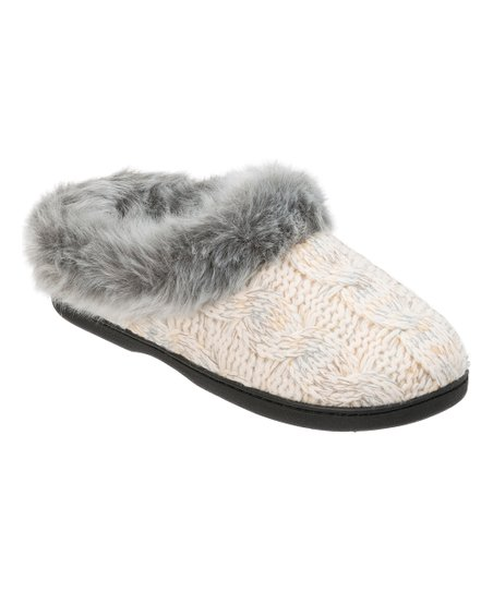 73cd3f280a8 love this product Muslin Space-Dye Cable Knit Clog - Women