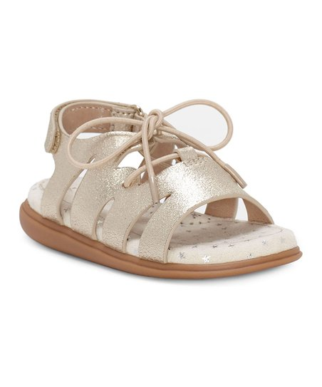 Sole Play Gold Calissa Leather Leather