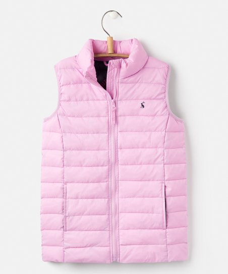 9ff960318 love this product Neon Mauve Croft Padded Pack-Away Vest - Girls