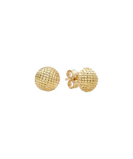 textured dome stud Earrings
