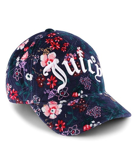 love this product Regal Floral Quilted Velour Logo Baseball Hat 6025981e47d