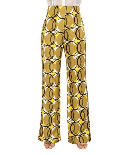 dd8c0e3cbc15 love this product Rich Gold High-Waist Palazzo Pants - Women