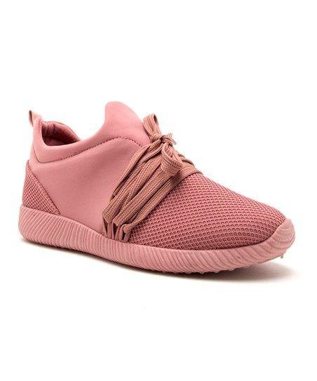 Qupid Ash Rose Nacara Lace-Up Sneaker