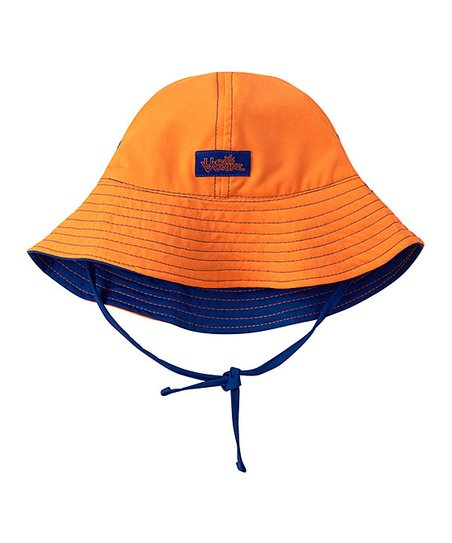 31edde418a0 love this product Navy Blue   Orange Reversible Bucket Hat - Infant    Toddler