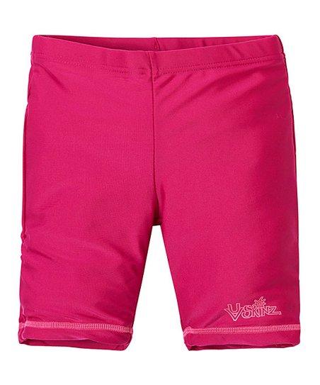 4ba801342118d UV Skinz Hot Pink Swim Shorts - Toddler   Girls