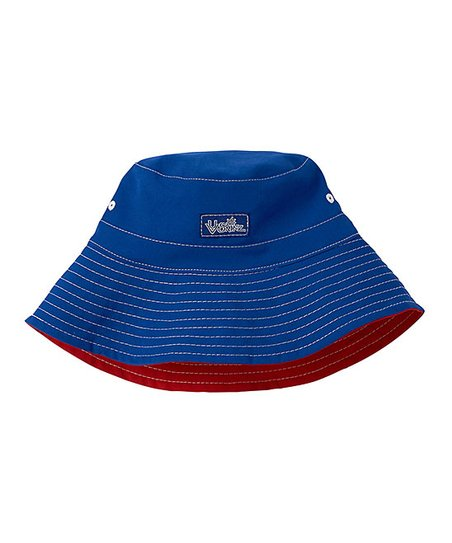 love this product Navy Blue   Dark Red Reversible Bucket Hat - Toddler    Boys 3230a5fa5fc