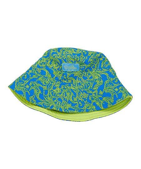 b5503b1dd94 UV Skinz Lime Punch Koi Adjustable Bucket Hat - Toddler   Boys