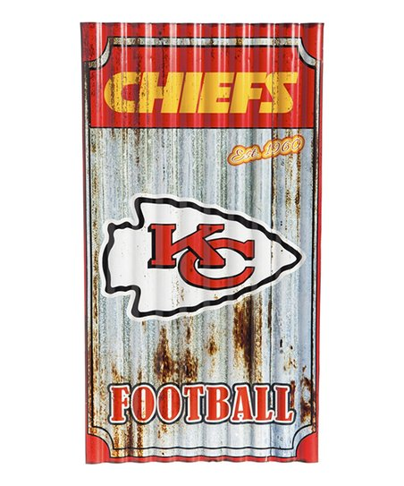 Love This Product Kansas City Chiefs Corrugated Metal Wall Sign