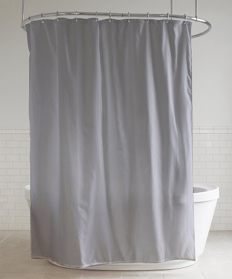 Gray Diamond Shower Curtain