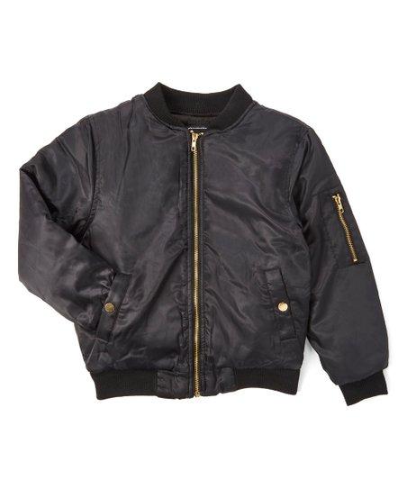 949d9f410 Daniel L Black Bomber Jacket - Boys