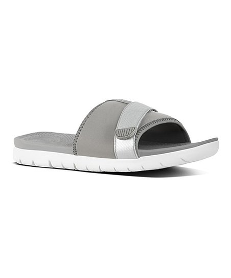 e5cb8d9e2 love this product Soft Gray   Silver Neoflex Slide Sandal - Women