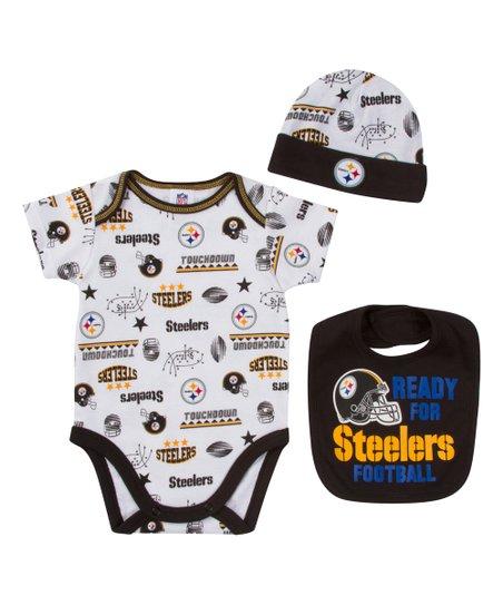 c7a4d087d Gerber Childrenswear Pittsburgh Steelers Bodysuit Set - Infant