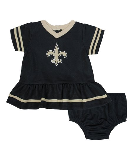 pretty nice 77052 aa50e Gerber Childrenswear New Orleans Saints Dress & Diaper Cover - Infant