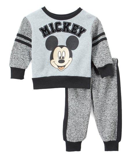 Childrens Apparel Network Mickey Mouse Gray Mickey Sweatshirt