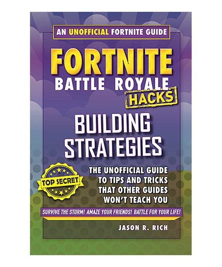 fortnite battle royale hacks building strategies hardcover - fortnite building strategy