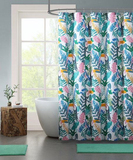 Love This Product Teal Bright Beautiful 15 Piece Shower Curtain Rug Set