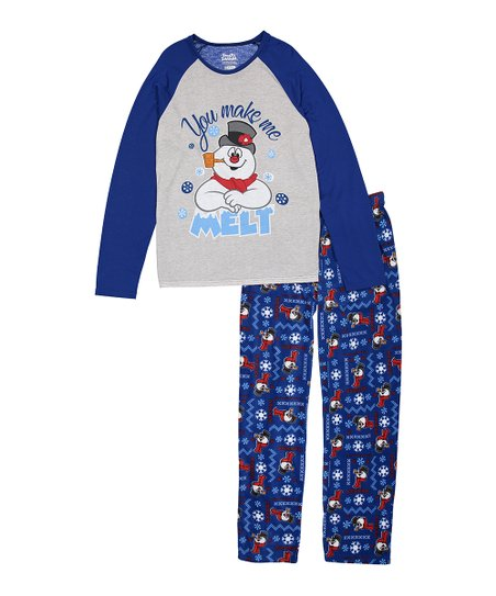 Briefly Stated Frosty the Snowman Pajama Set - Adult  a4f16632b